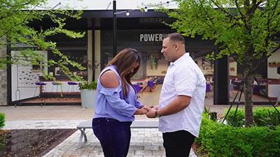 Wedding Engagement Video at Celebration Pointe